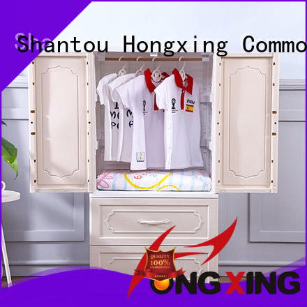HongXing door plastic storage drawers for clothes China supplier for storage books