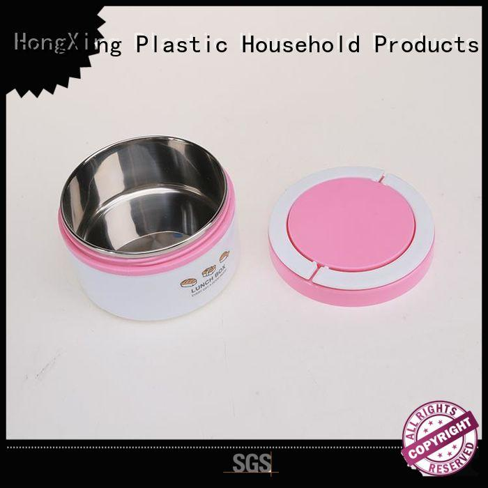 HongXing practical bento lunch box containers stable performance for noodle