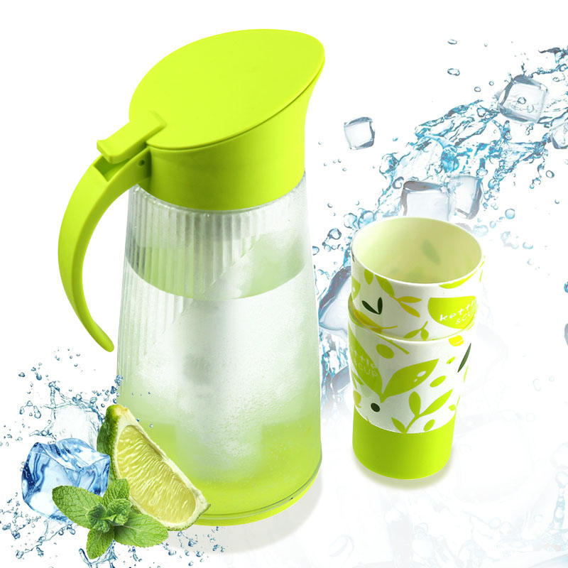 PLASTIC HIGH SEAL QUICK FREEZING JUG 2L WITH 3 CUPS