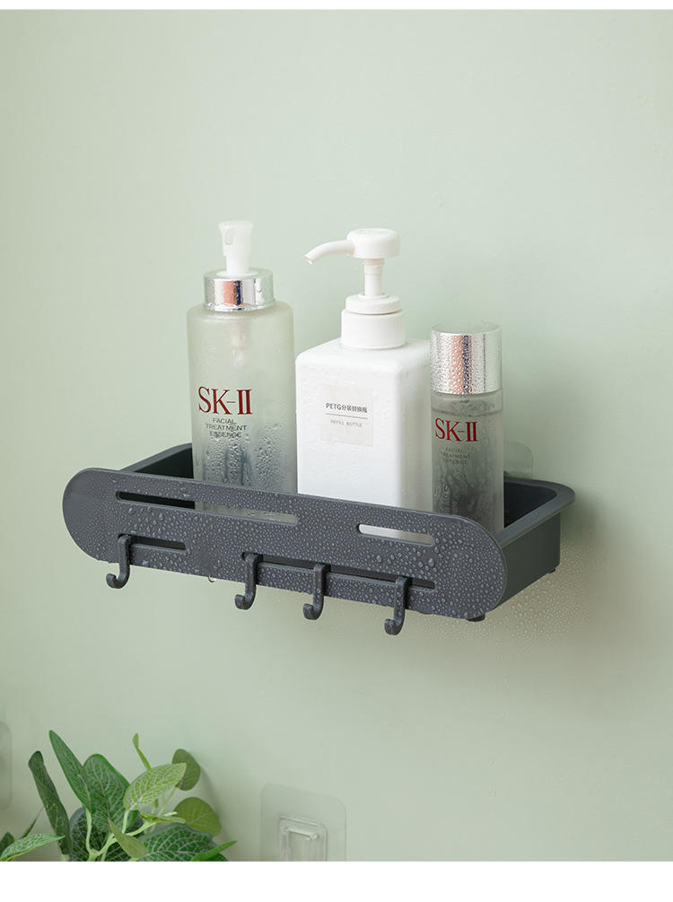 Four Kinds Bathroom Storage Rack Plastic Storage Shelf