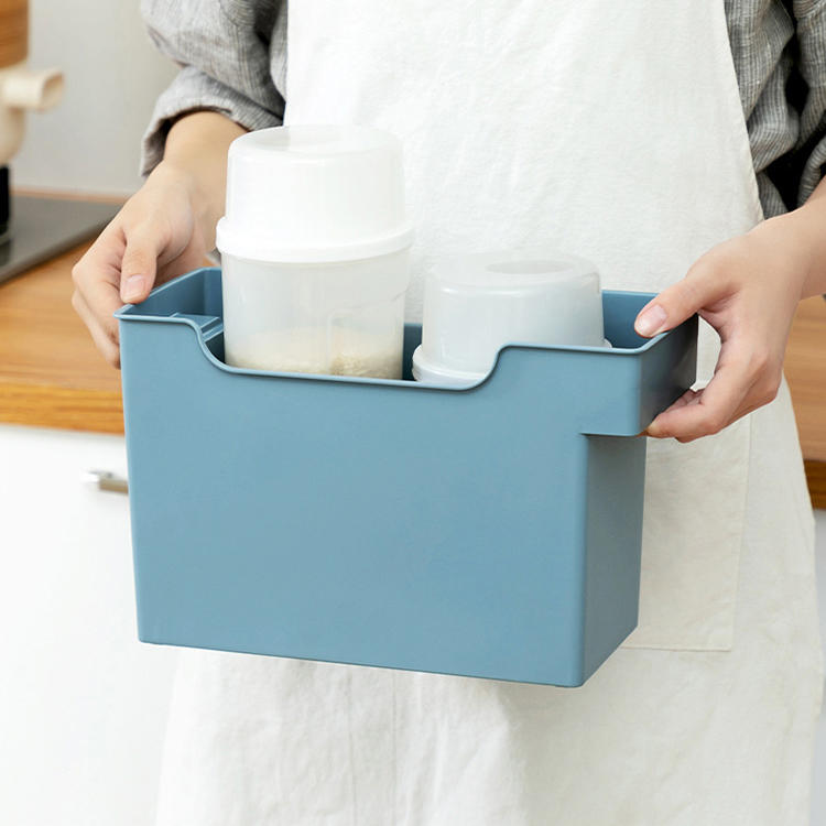Two Sizes Fashion Plastic Multifunction Storage Box Used in Kitchen