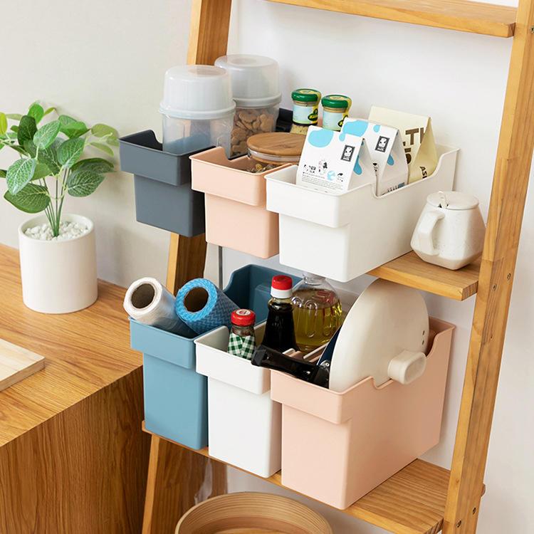Two Sizes Fashion Plastic Multifunction Storage Box Used in Kitchen