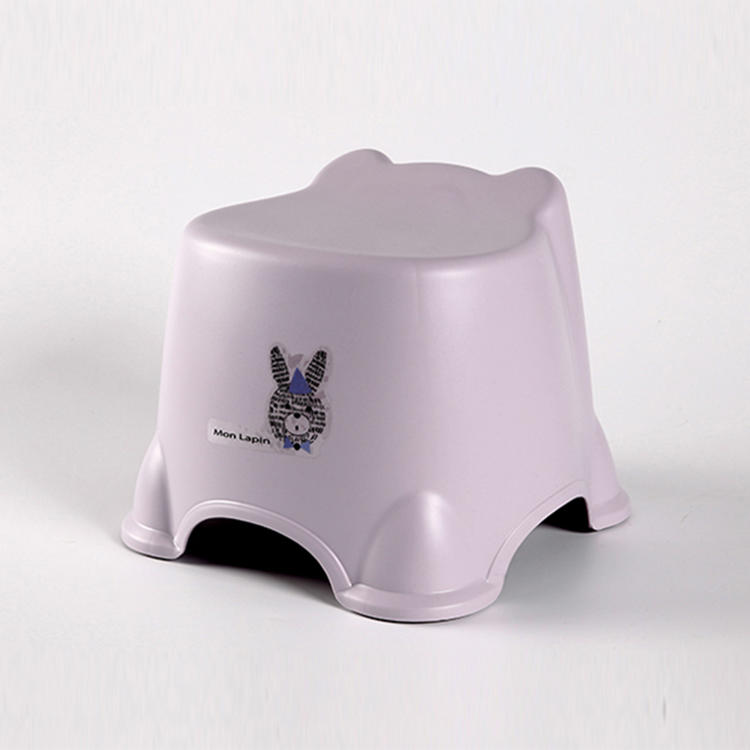 Cartoon Rabbit Plastic Chair Used for Kid Little Stool