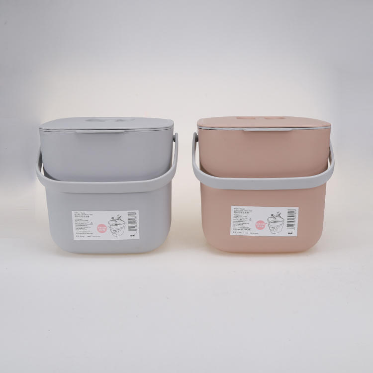 Eco-friendly Plastic Kitchen Waste Filter Bucket