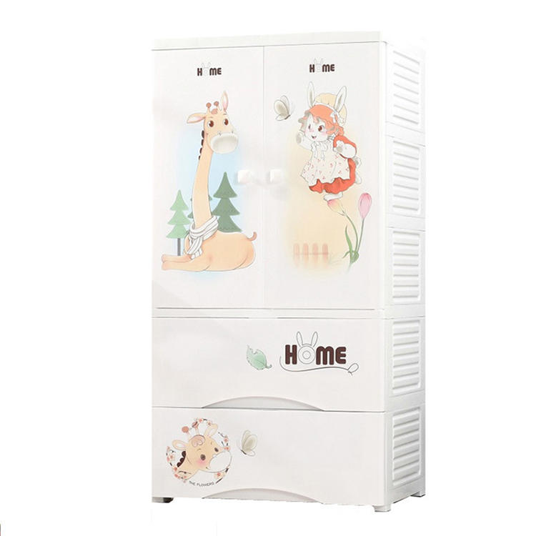 Cute Little Red Riding Hood Pattern Seven Styles Drawer Cabinet