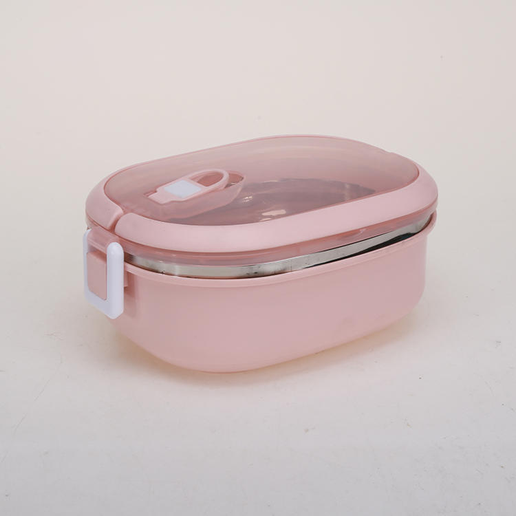 Plastic Lunch Box 201#Stainless Steel Bento Box