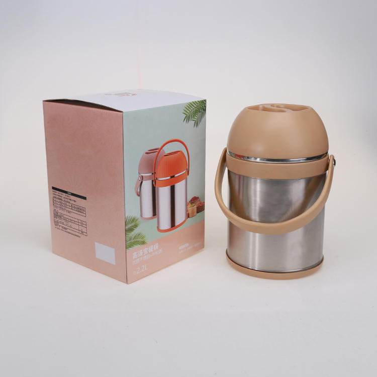 2.2L 201#Stainless Steel Lunch Box Insulation Pot