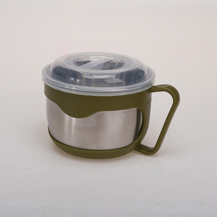 201#Stainless Steel Bowl Used for Eating Instant Noodles