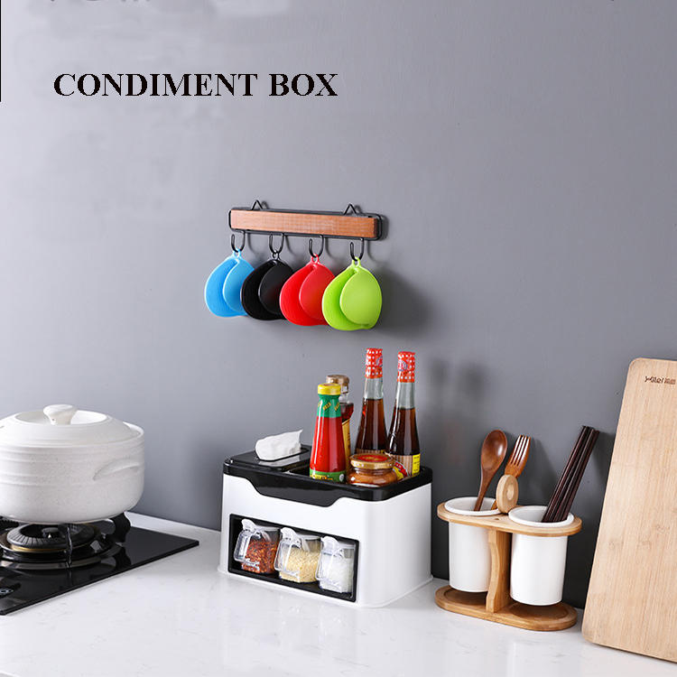 Multi-functional Condiment Box Seasoning Box