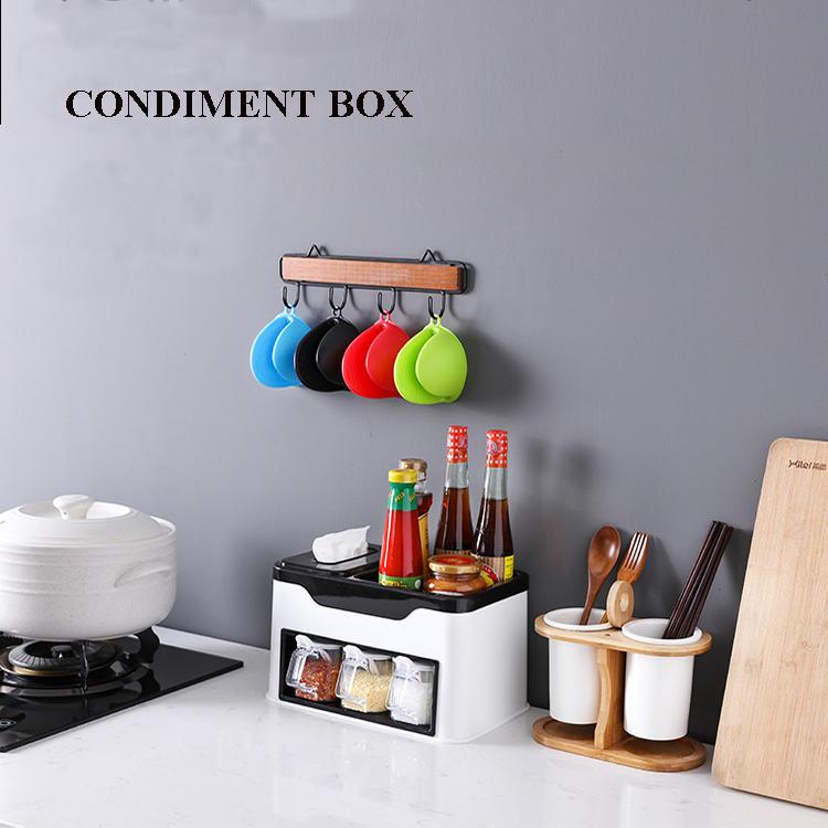 Multi-functional Condiment Box Seasoning Box