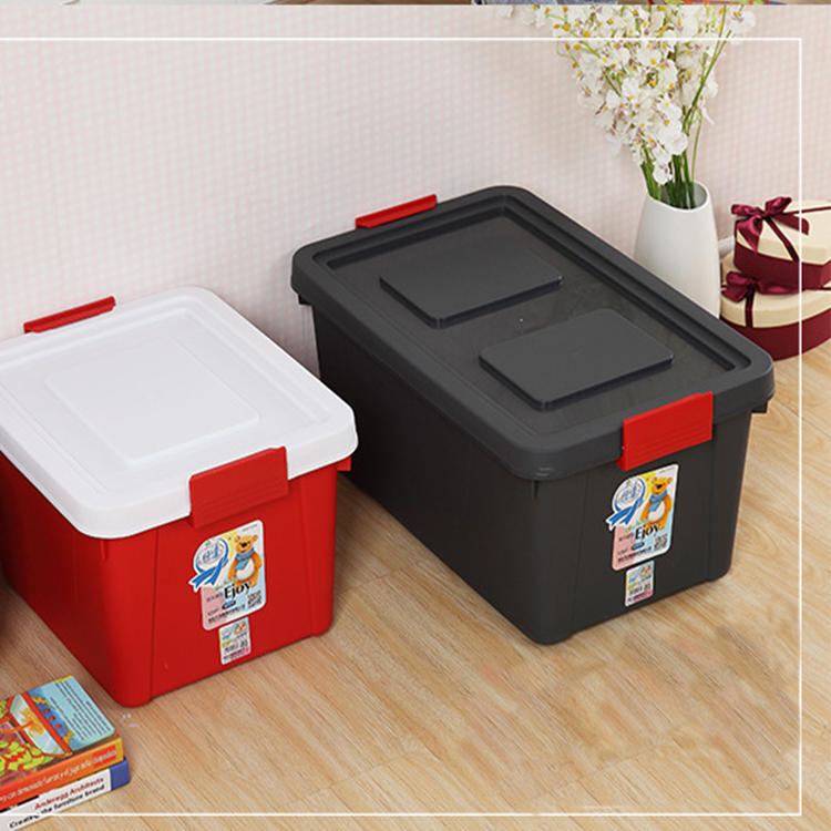 Four Sizes Plastic Multifunctional Vehicle Storage Box Container