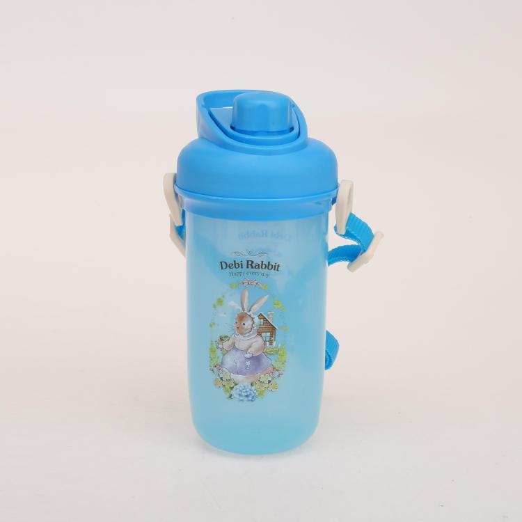 Cute Rabbit Pattern Sports Bottle 400ML 500ML
