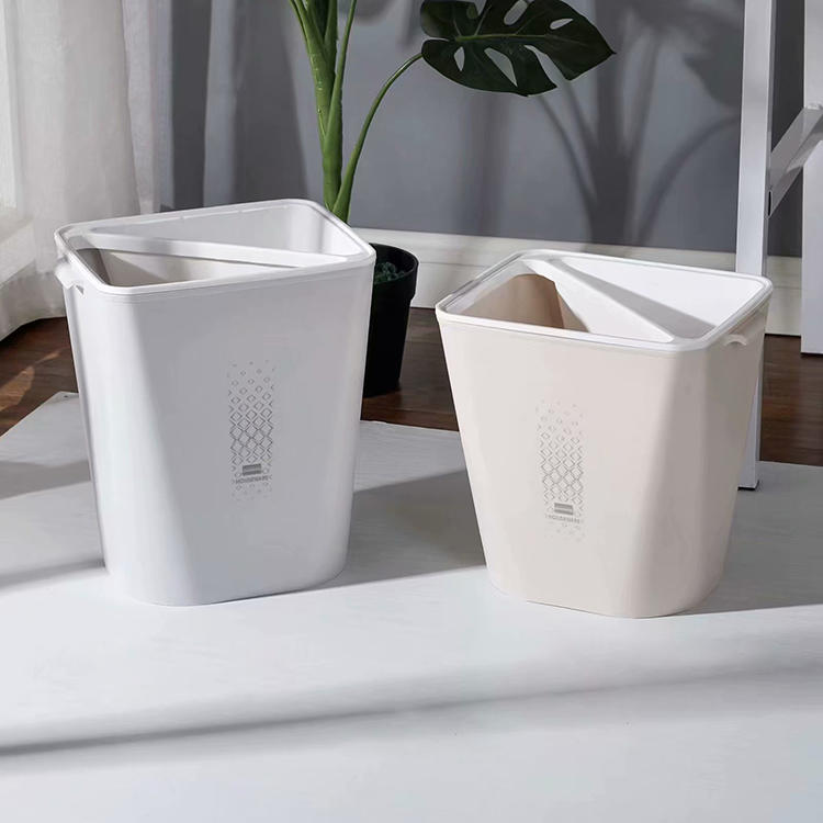 Sort Dry and Wet Waste Bin Plastic Trash can