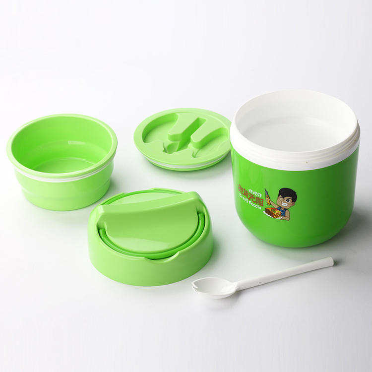 Thermal Lunch Box has Four Styles with Spoon