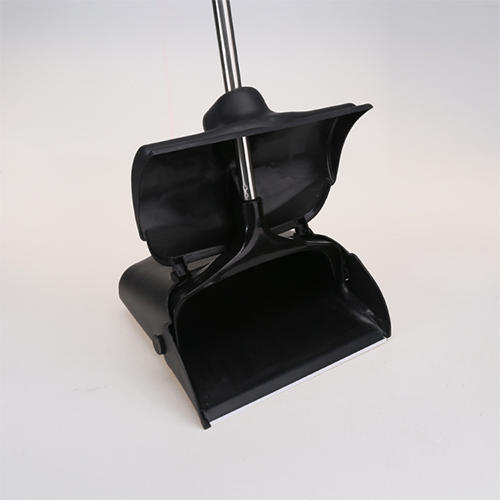 Upgraded Windproof Dustpan Stainless Steel Loop