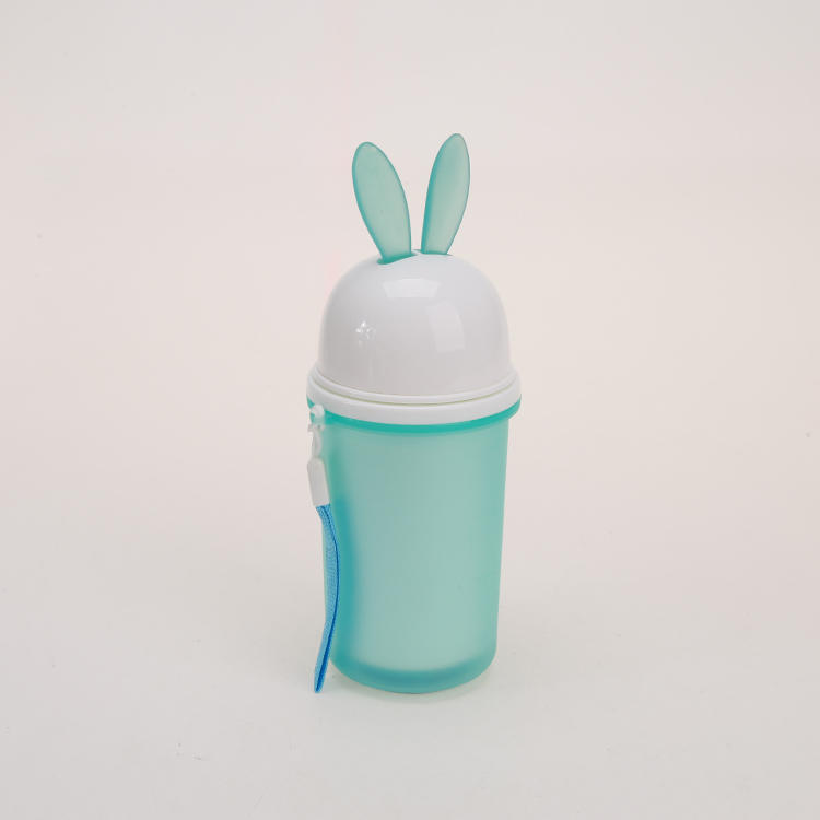Rabbit with Long Ears Cute Water Bottle Used for Kid