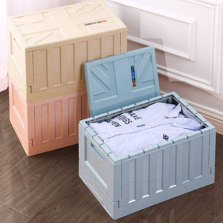 Folding Storage Box with Three Colors Two Sizes
