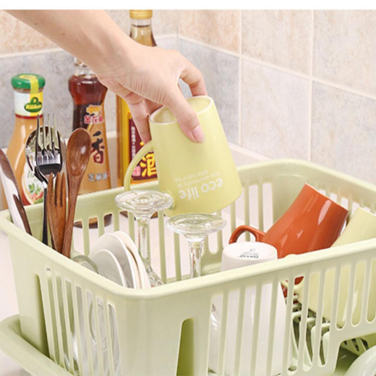 Multi-function Drain Basket Storage Rack Cupboard