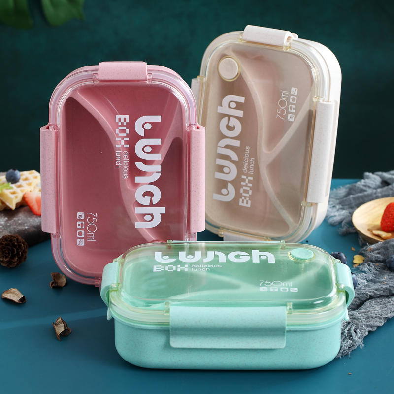 Insulated Lunch Box with Two Styles Three Colors