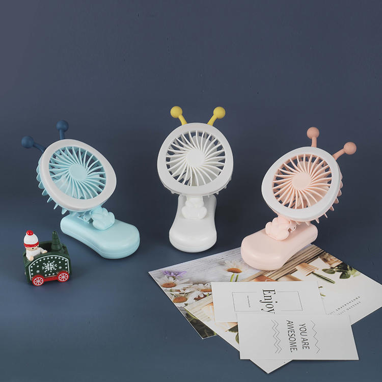 New Wholesale Mini USB Rechargeable Clip Fan