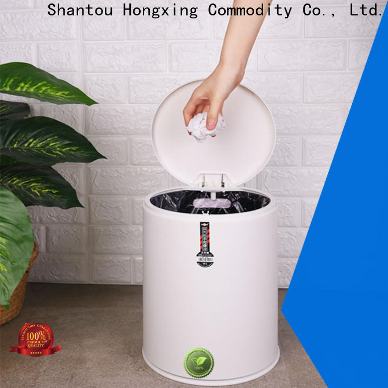 HongXing plastic kitchen trash cans free design for bedroom