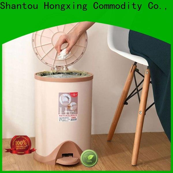 HongXing reliable quality plastic waste bins bulk production for bedroom