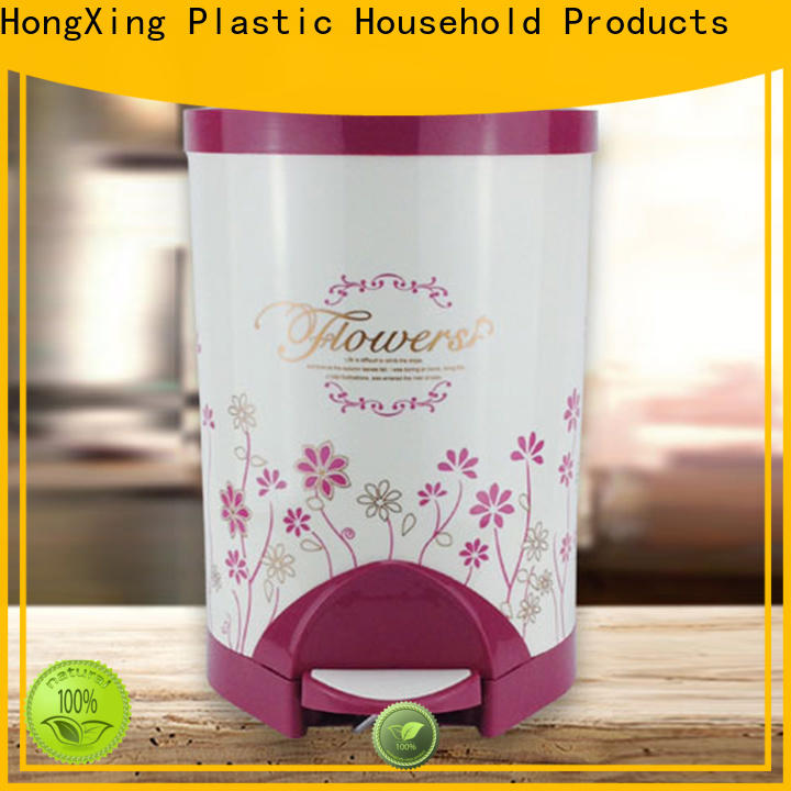 good design plastic garbage bin trash from China for home