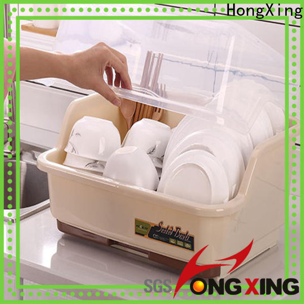 non-cracking plastic dish rack dustproof factory to store dishes