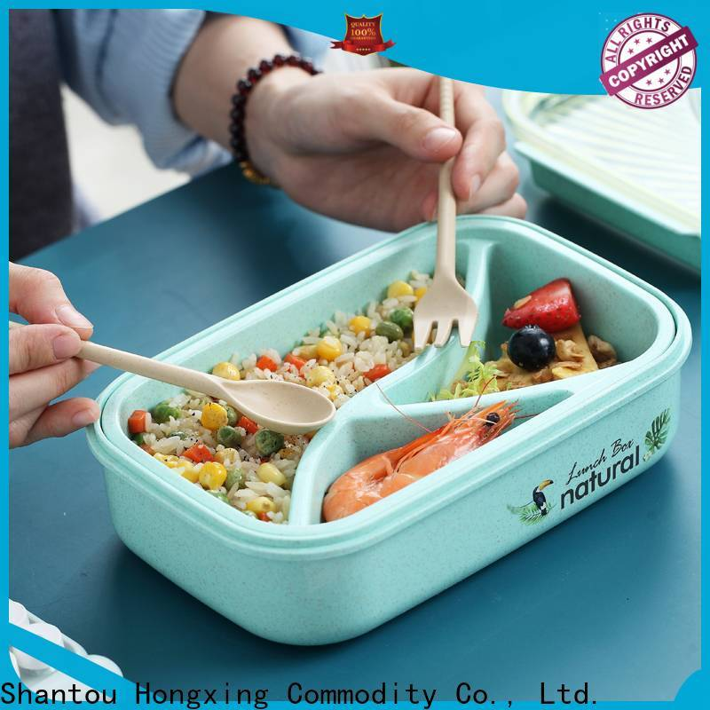 HongXing 304stainless japanese bento lunch box great practicality for noodle