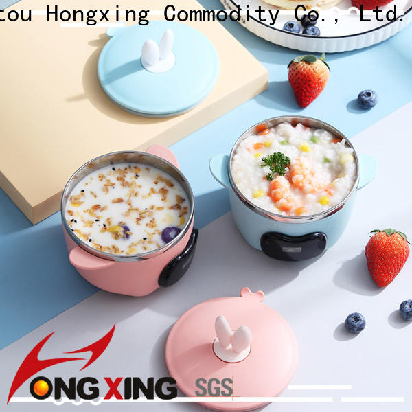 HongXing fashionable bento style lunch box great practicality for noodle