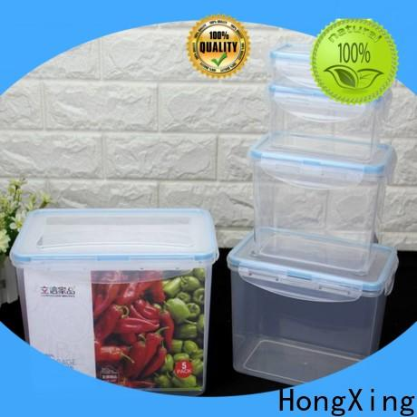 HongXing lids plastic kitchen storage containers factory price for candy