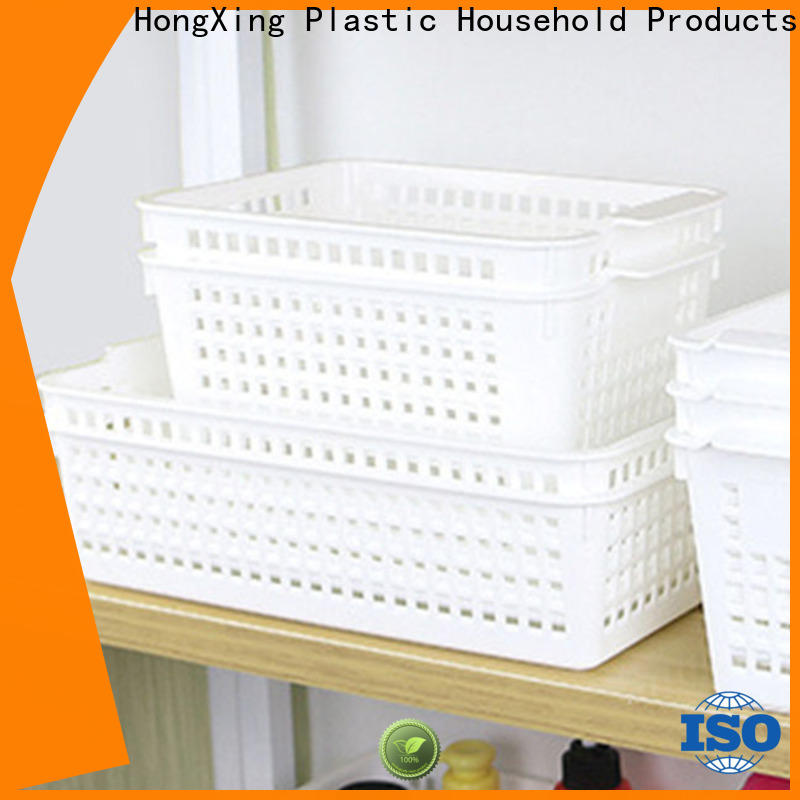 HongXing safety plastic laundry basket for storage household items for storage toys