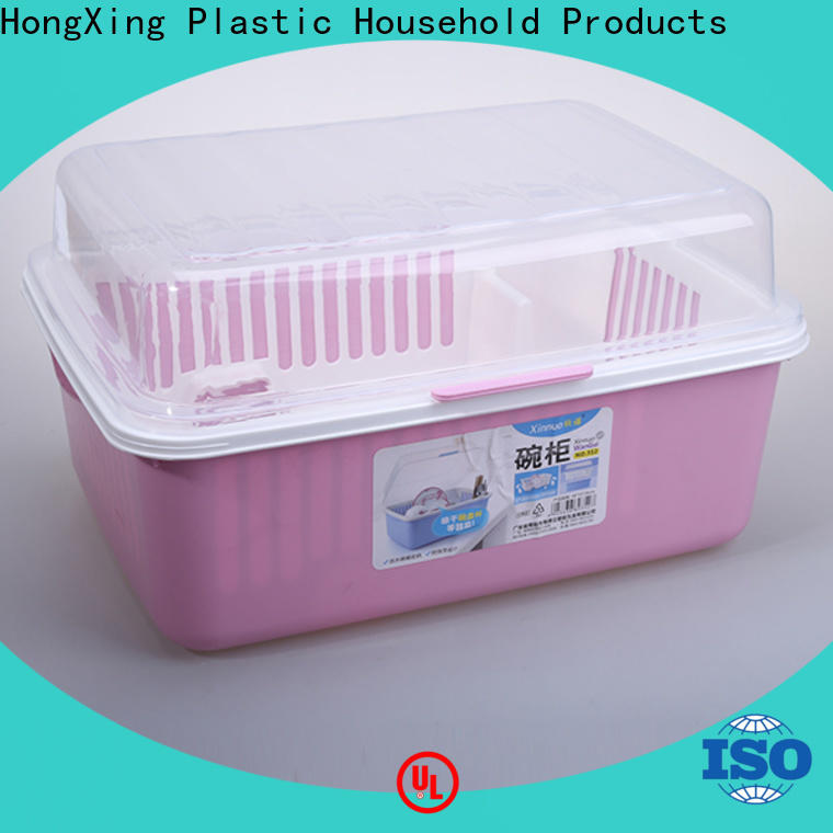 HongXing rackplastic plastic dish drying rack from China for kitchen