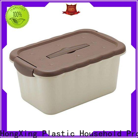 HongXing stable performance plastic storage box for vegetable
