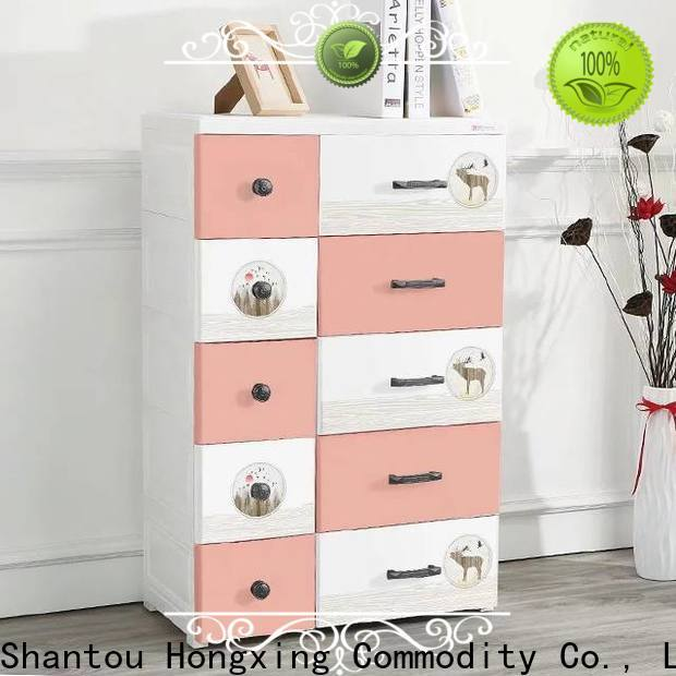 HongXing Affordable plastic storage cabinets free quote for toys