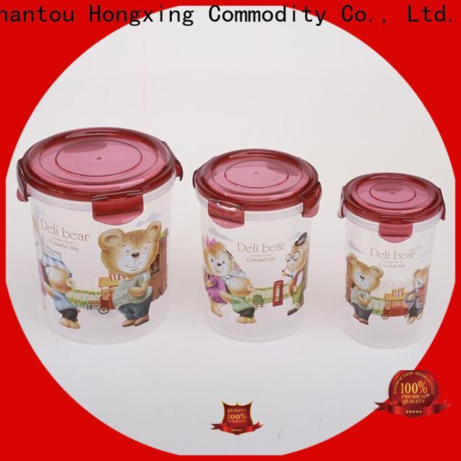 reliable quality plastic airtight containers material from China for rice