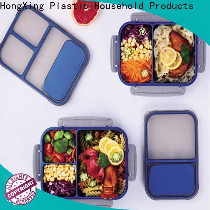 HongXing stable performance eco friendly lunch box good design for noodle