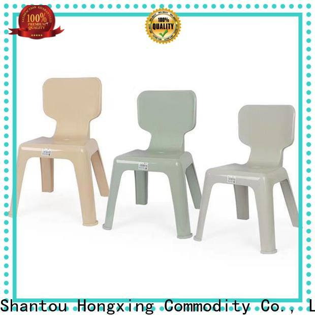 HongXing suitable kids plastic table and chairs great practicality for room