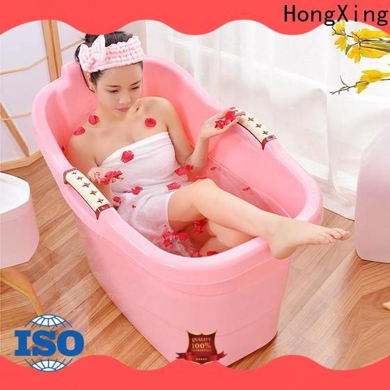 HongXing tub small plastic bathtub for room