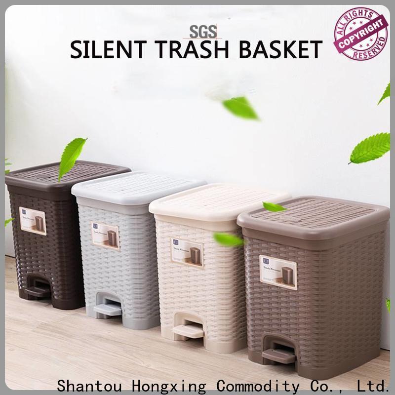 HongXing 16l plastic waste bins free design for room