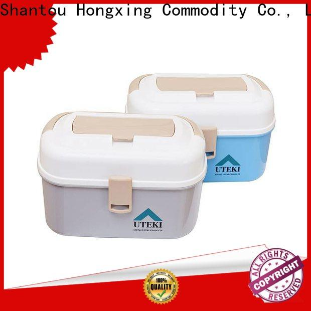 HongXing Microwave Safe cheap plastic storage boxes good design for macaron