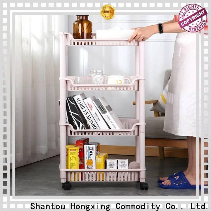 plastic storage boxes with handle & kitchen racks and storage