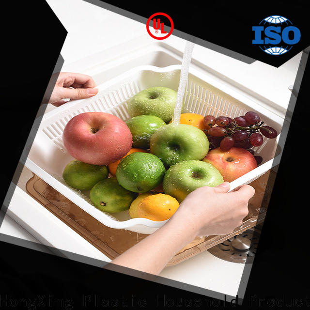 HongXing pp plastic kitchenware to store fruits