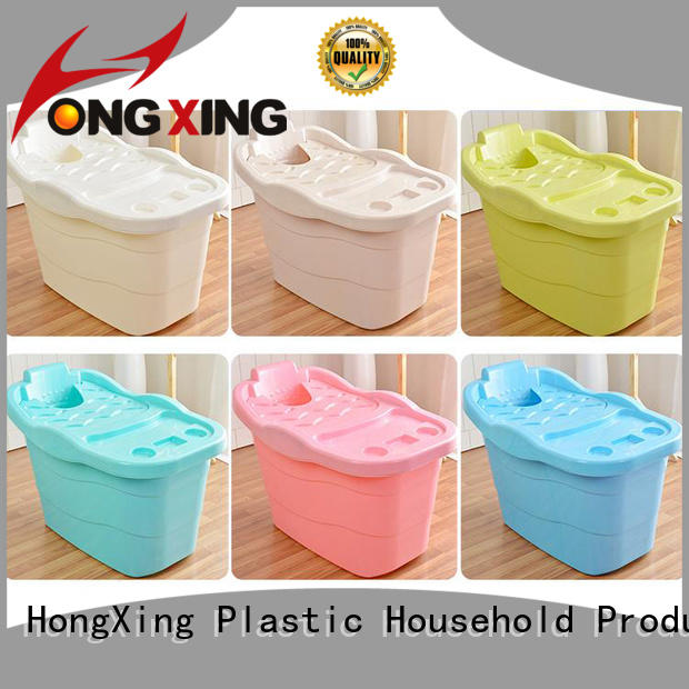 HongXing plastic bathtub stable performance for home