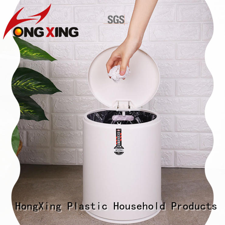 good design plastic waste bins plastic with many colors for home