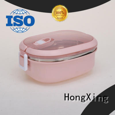 HongXing free bento style lunch box great practicality for stocking fruit