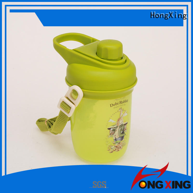 HongXing cute plastic water bottles long-term-use for workers