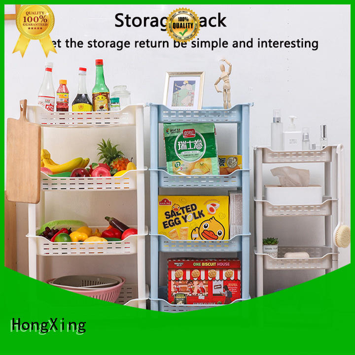 HongXing Cute plastic racks for storage for drinking