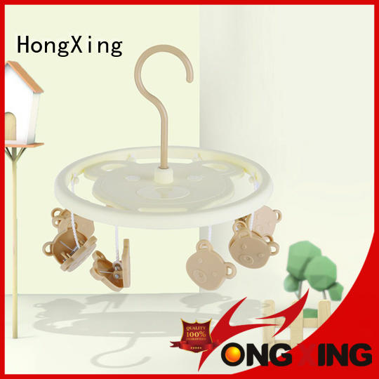 HongXing reliable quality wooden clothes hanger factory for baby clothes