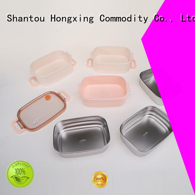 HongXing bamboo school lunch box great practicality for snack